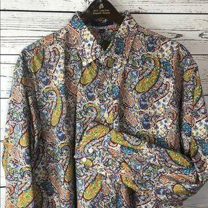 Alan Flusser Men's Shirt